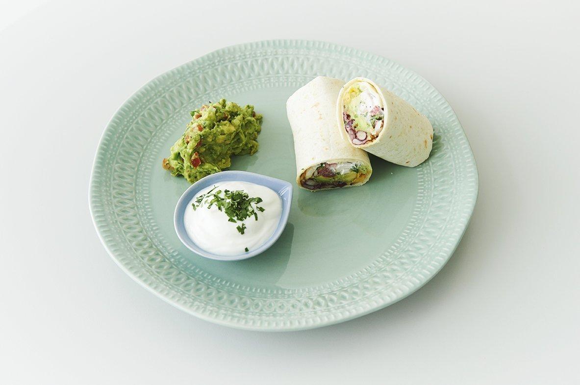 Μπουρίτο (Burrito) με κοτόπουλο