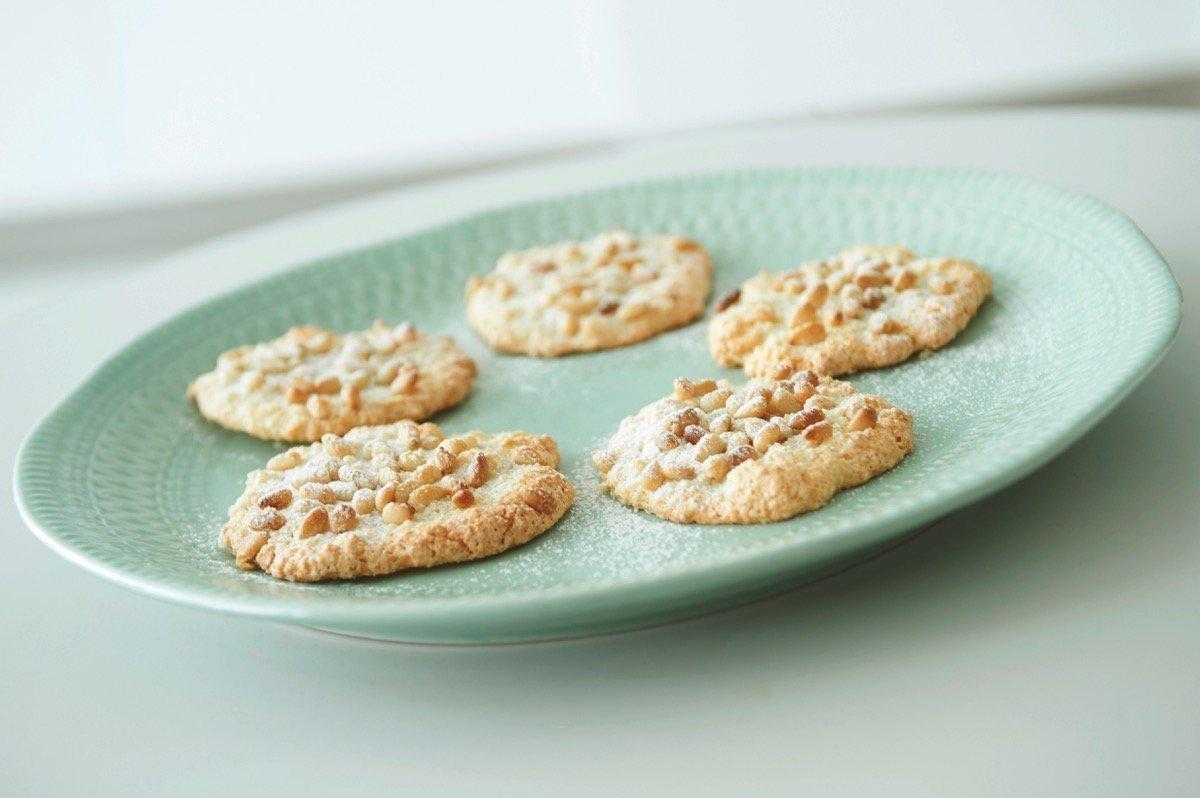 """Ιταλικά μπισκότα """"Pignoli"""" χωρίς αλεύρι"""