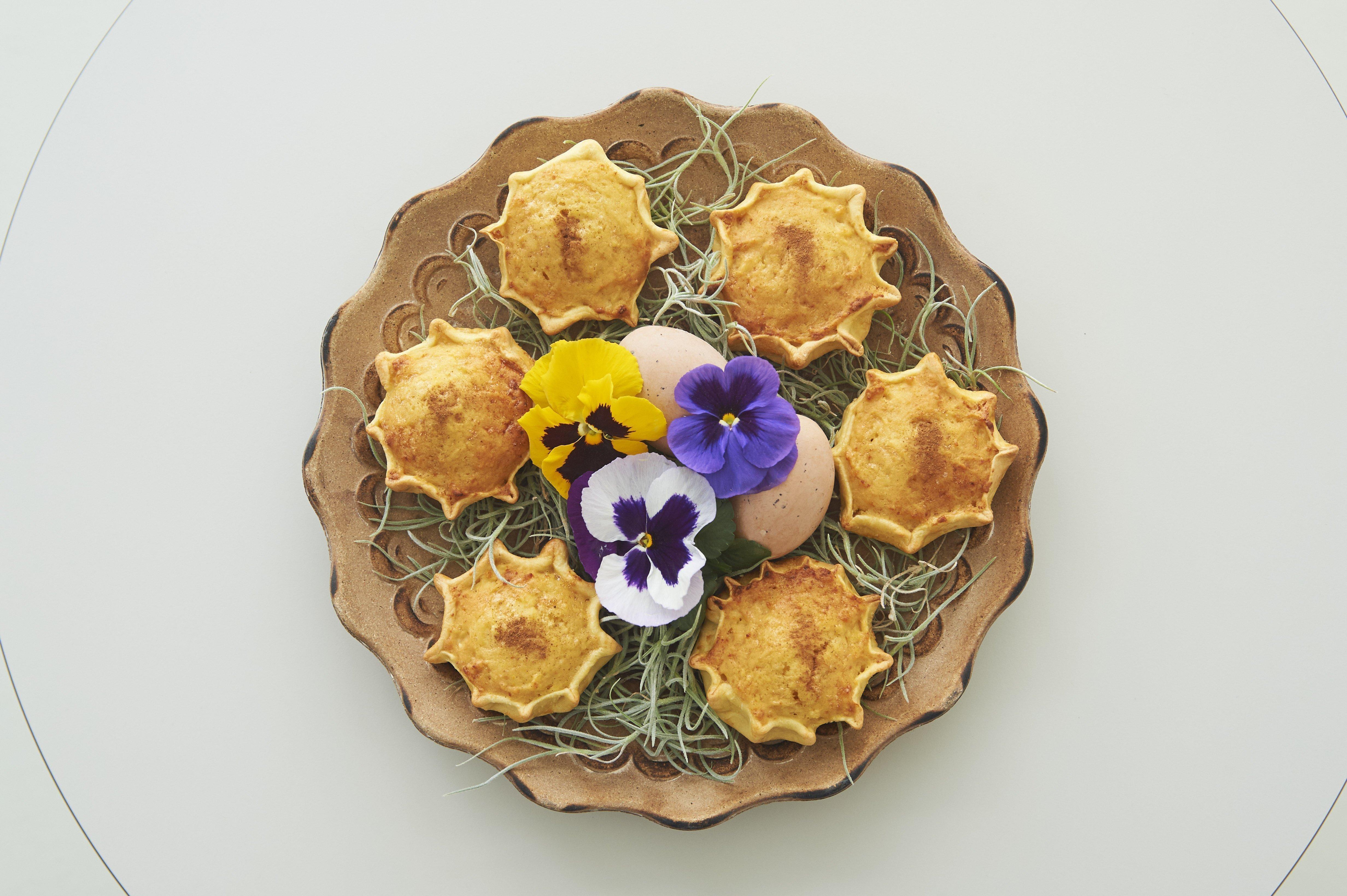 Πασχαλινό γλυκό: Μελιτίνια Σαντορίνης