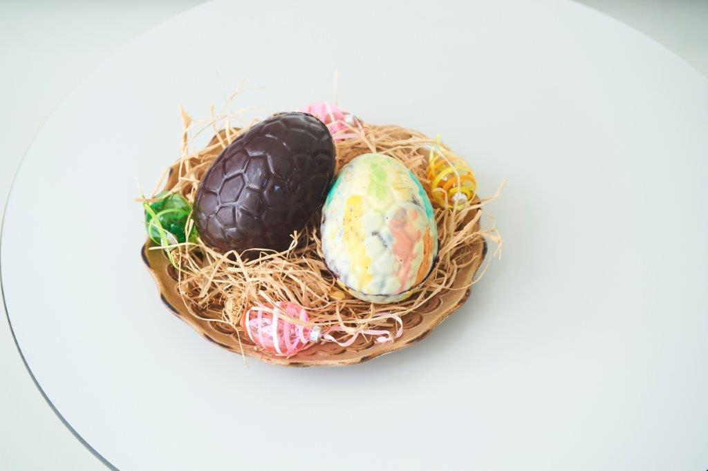 Πασχαλινά σοκολατένια αβγά